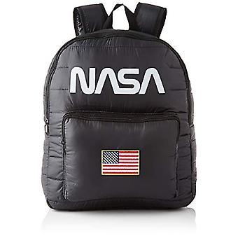 Mister Tee NASA Puffer Backpack, Bag Unisex Adult, Black, one size
