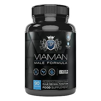 Viaman - Supplement for Men. Increase Libido, Delayed Premature Ejaculation. 60 Powerful Capsules with no Side Effects