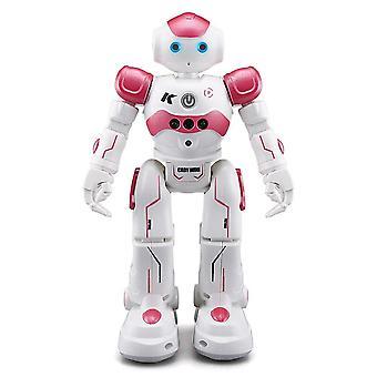 Original  RC Robot Singing Dancing Intelligent Toy Action Figure For Children Toys|RC Robot(Pink)