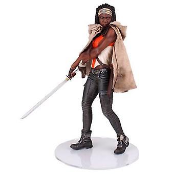 Michonne Polystone Statue from The Walking Dead