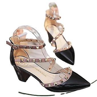 Sandals For Women With Pointed Toes And Shallow Slipper