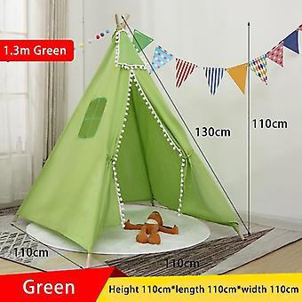 Portable Tipi Tents Teepee Tent For Kid Play House Wigwam Play Room
