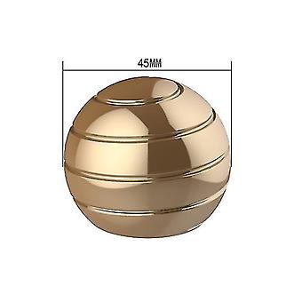 45mm זהב להסרה שולחן מסתובב הכדור העליון, קצות האצבעות מסתובב העליון, צעצוע לחץ az6326