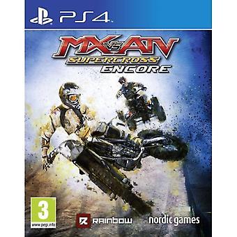 MX vs ATV Supercross Encore Edition PS4 Spel