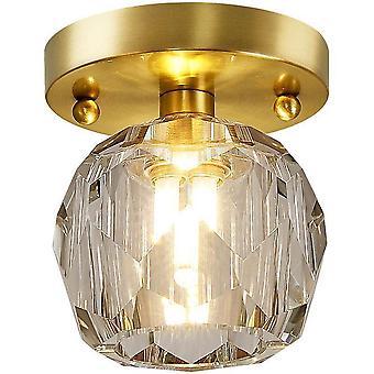 11CM, 220V G9 Without Bulb, Copper Ceiling Light, LED Hall Light
