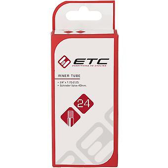 ETC Chambre à air 24 x 1.75-2.25 Schrader