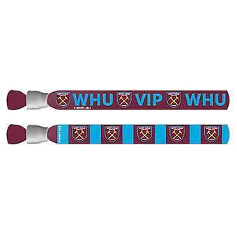 West Ham Festival Polsbandjes Two Pack