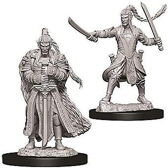 Donjons &Dragons Nolzur's Marvelous Unpainted Miniatures - Male Elf Paladin