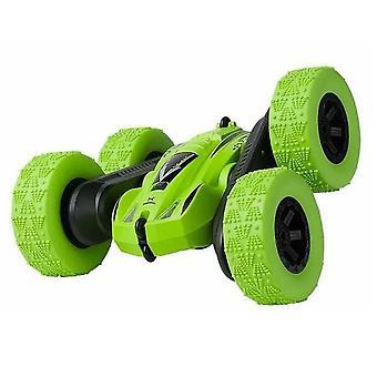 子供のためのRcスタントカーは、RCスピードカー2.4ghzダブルサイド360°は、LEDライト4wdドライビングカーでレーシングカーを反転