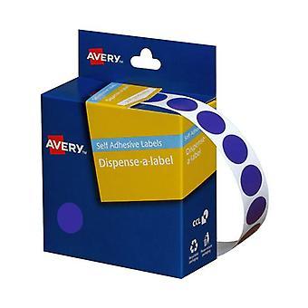 Avery Dispenser 14Mm Blue Roll 1050