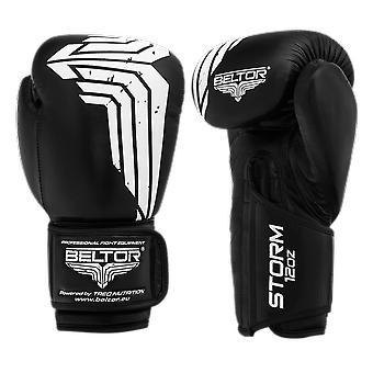 Boxhandschuhe Storm 12 oz - Schwarz und Weiß - Box Handschuhe