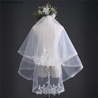 New Arrival Two Layers Bridal Veil