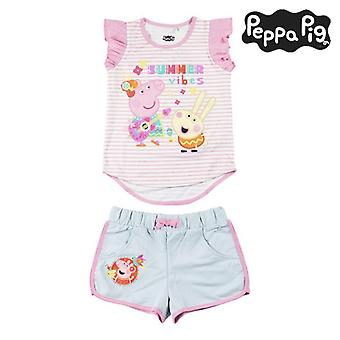 Set of clothes Peppa Pig Pink