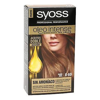 Permanent Dye Olio Intense Syoss N 8,60 Honey Blonde