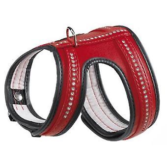 Ferplast valjaat yhden kosketuksen Lux punaisia (koirat, kaulus kaulanauha, johtaa ja valjaat, valjaat)