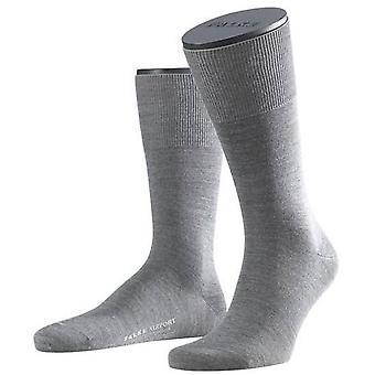Falke Wool / Cotton Airport Socks - Grey