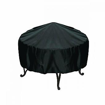 Outdoor Firepit Cover Round,waterproof, Dustproof And Anti Uv(130*71cm)