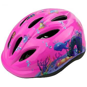 Bicycle Scooter Skating Speed Skating Helmet Helmet(Pink)