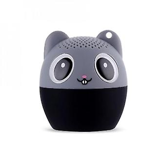 Mini Animal Bluetooth-højttaler bærbare trådløse højttalere Gave Udendørs Lyd Stereo Subwoofer Musik