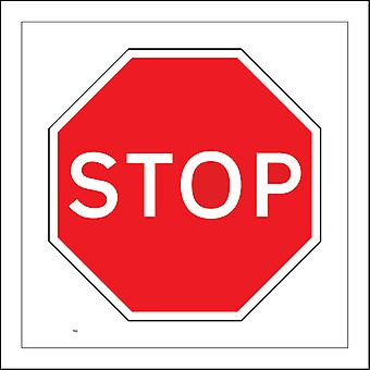 TR063 Stop Sign