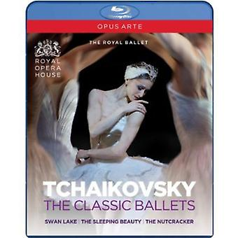 P.I. Tchaikovsky - Tchaikovsky Collection-Featuring the Royal Ballet [BLU-RAY] USA import