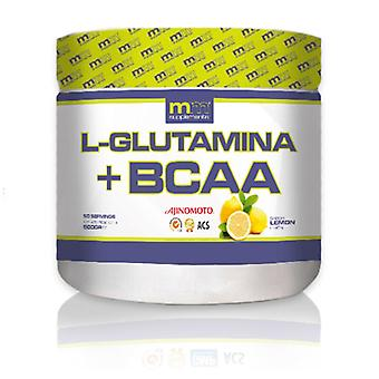 L-Glutamine + BCAA MM Supplements Lemon (500 gr)