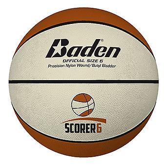 Baden Basketball Scorer Sisä/Ulkona Deluxe Kumipallo - Koko 6