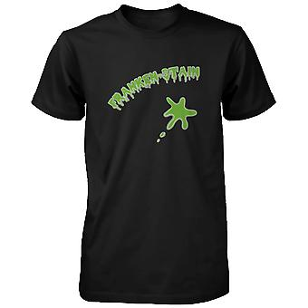 Franken-Fleck Halloween Shirt lustige Grafik schwarz Herrenabschlag für Horror Night lustiges Shirt