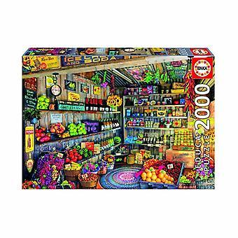 Educa Borras – The Farmer's Market 2000 piece Jigsaw Puzzle