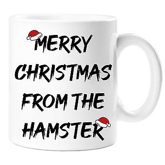 Merry Christmas From The Hamster Mug