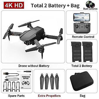 Mini drone 4k hd podwójna kamera fotografia lotnicza fpv wifi składany przenośny pilot quadcopter