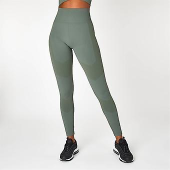 Everlast Womens Super High Waist Racer Legging Yoga Trousers Bottoms Pants