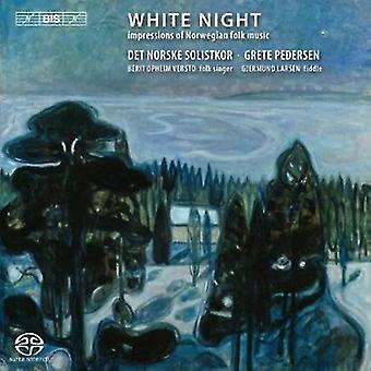 Noorse solisten koor - White Night: Indrukken van Norwegian folkmuziek [SACD] USA import