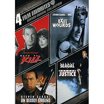 4 filme favoritos: Steven Seagal coleção [DVD] EUA importar