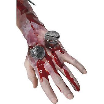 Kunstmatige wond nagel lijm bloed Halloween