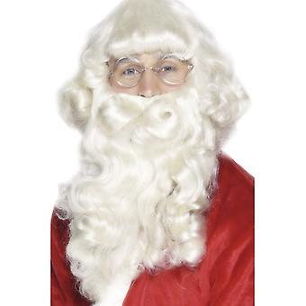 Luxus-Santa-Bart, Weiß