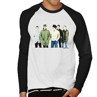 Oasis Noel zespół Liam Gallagher męska Baseball z długim rękawem T-Shirt