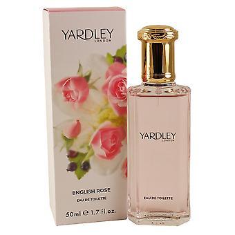 Yardley English Rose Eau de Toilette 50ml EDT Spray