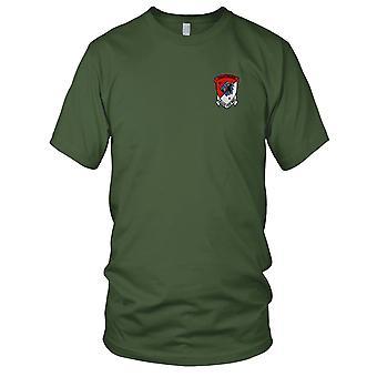 US Army - 4 11 Aviation kavalleriregementet broderad Patch - Mens T Shirt
