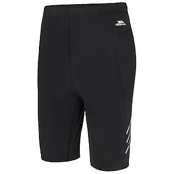 Trespass Mens Crawl Athletic Sport Base Layer Shorts