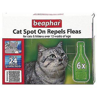 BEAPHAR CAT KITTENS SPOT ON TREATMENT REPELS FLEAS 24 WEEKS PROTECTION