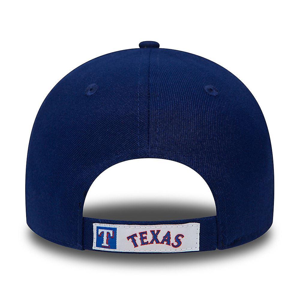 New Era 9Forty Adjustable Curve Cap ~ Texas Rangers