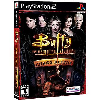 Buffy The Vampire Slayer Chaos Bleeds (PS2) - New Factory Sealed