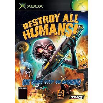Vernietig alle mensen (Xbox)-nieuw