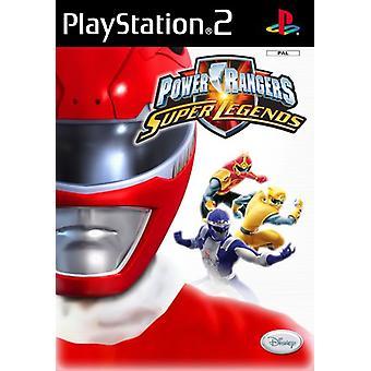 Power Rangers Super Legends (PS2) - Nieuwe fabriek verzegeld