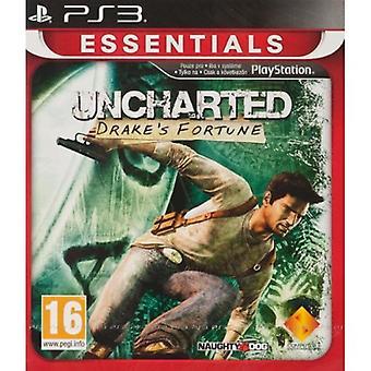 Uncharted Drakes Fortune PlayStation 3 Essentials (PS3) - Als nieuw