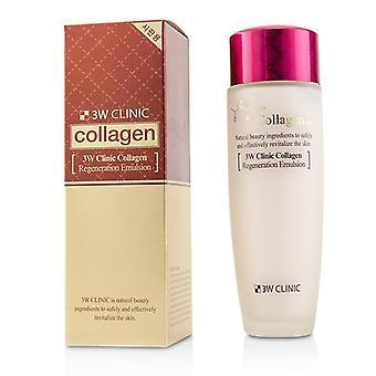 3W clínica colágeno regeneração emulsão - 150ml/5oz
