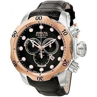 Invicta Reserve 0360 cuir chronographe montre