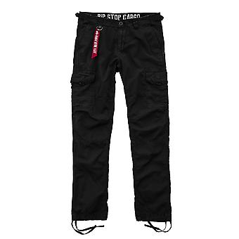 Alpha Industries Pants Rip stop cargo