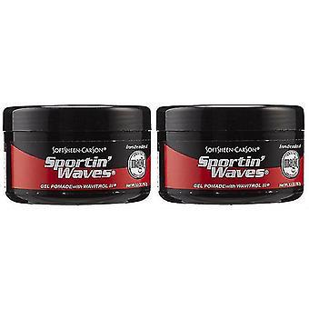 Sportin Waves Black(2-Pack)